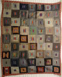 ANTIQUE QUILTS & View Large Image · AFRICAN AMERICAN LOG CABIN TRIPLE BARS ANTIQUE QUILT Adamdwight.com