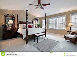 master bedroom with dark wood furniture stock photography image 25 best ideas