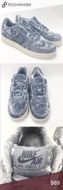 Nike Air Force 1 Velvet Sneakers Nike Air Force 1 Low Velvet