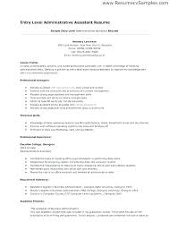Administrative Assistant Resume Objective Sample Custom Resumes For Administrative Assistants Resume Objective