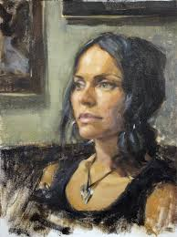 maria s heart was painted using the zorn palette and shows the rich flesh tones possible with this limited palette available from rs hanna gallery