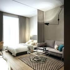 one room apartment interior design style best studio decorating ideas on small bedroom