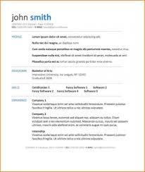 6 Free Resume Template Download Microsoft Word Skills Based