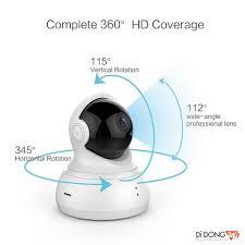 Camera IP giám sát Yi Home Dome quay 360 độ HD 720P Kèm thẻ nhớ 32GB Class  10 - Bản Quốc tế Tiếng Anh - Phân Phối DGW