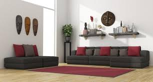 Image Dark Brown Leather Sofa Onehowto How To Decorate Room With Dark Furniture Steps