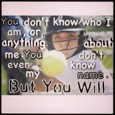 Motivational Softball Quotes Be The Girl Pitchers Are Afraid To