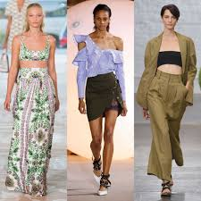 Spring 2017 Runway Trends Popsugar Fashion