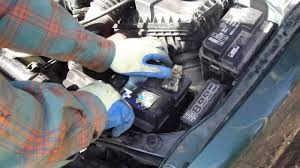 How to change battery in Toyota Corolla. Years 1996-2011 - YouTube