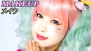 super kawaii anese makeup tutorial for kimono by model kimura u 木村優のかわいい和風着物メイク you