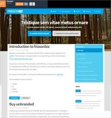 Html5 Website Templates Fascinating 28 Free Responsive Html28 Website Templates Themes Free Intended