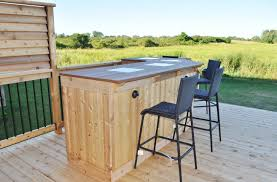 outdoor bar top designs photo 1