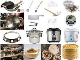 Asian restaurant cooking appliances