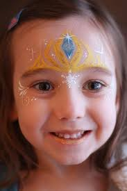 where to frozen crown face paint for kids 2016 makeup