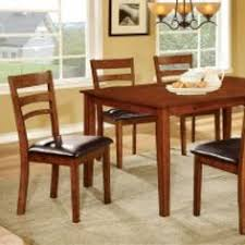 furniture of america fairdale i dining table set in antique oak