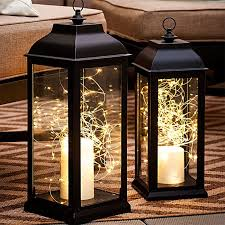 noma 24 outdoor battery operated led christmas lights. they\u0027re as easy adding an led candle and a nest of battery-operated string lights to lanterns. don\u0027t limit this decor christmas noma 24 outdoor battery operated led