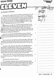 eleven by sandra cisneros essay virtual classes essay literary essays virtual classes copies of eleven by sandra cisneros essay