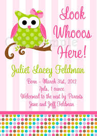 baby shower invitations for girls templates owl baby girl shower invitations owl baby girl shower invitations