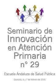 Resultado de imagen para Seminario de Innovacion en Atencion Primaria de Salud