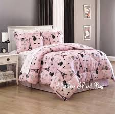 Paris Bedroom Decor Teenagers Girls Paris Bedding Ebay
