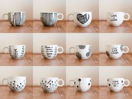 DIY: Personalized Coffee Mugs | Laughs, Crafts & Photographs | Crafts |  Pinterest | Coffee, Craft and Crafty