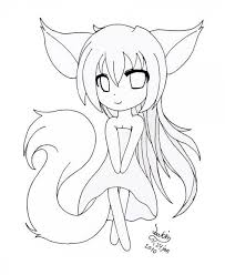 Cat Girl Anime Coloring Pages Inspirational Birthday Girl Coloring