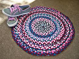 braided t shirt rug