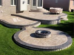stamped concrete patio with fire pit cost. Delighful Patio Stamped Concrete Amusing Price For Patio And With Fire Pit Cost D