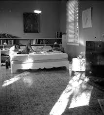ehn ernest hemingway lying on a bed in finca vigia john f eh1963n ernest hemingway lying on a bed in finca vigia
