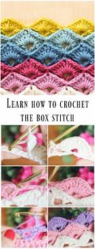 Crochet Box Stitch Pattern New Design