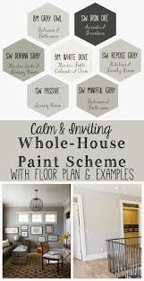 Rustic Color Schemes Best 25 Farmhouse Paint Colors Ideas On Pinterest Hgtv Paint