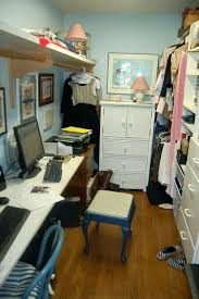 turn closet into office. Walk In Closet Office Into My Adorable Husband Turned Our Turn