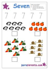 preschool number 7 worksheet | Numbers | Pinterest | Numbers ...
