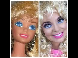 80 s barbie easy makeup tutorial