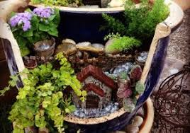 fairy garden pots. Fairy Garden Pots For Sale - Elegant Flower Pot Unique Decoration And Broken With