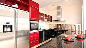 Red White And Black Kitchen Ideas CasanovaInterior In
