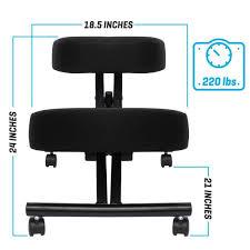 ergonomic kneeling office chairs. Office Chairs Furniture Chair In Black Fabric W Sierra Comfort Ergonomic Kneeling