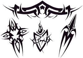 простые татуировки фото