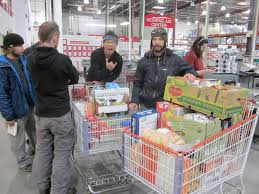 mountaineering the audacious kid s blog after intense ration planning we ventured in the depths of bulk shopping hell also known as costco you can obviously see the extreme excitement of this