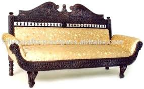 royal hand carved teak wooden sofa sets chaise lounge by clic set