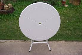 plastic folding round table 1