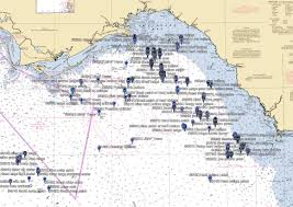 Big Bend Offshore Strikelines Fishing Charts