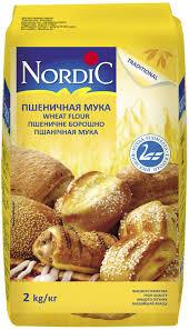 <b>Nordic мука пшеничная</b>, 2 кг — купить в интернет-магазине OZON ...