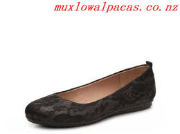 womens easy spirit getcity lace ballet flats black