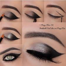 as you know the metallic shades are back and for that matter here we have an amazing tutorial for you this shimmery smoky egyptian cat eye will leave