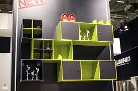 Lime Green Accessories For Living Room Furniture Accessories Wall Mounted Open Shelves Black Wood Are