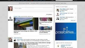 linkedin homepage gets a much needed visual redesign a linkedin homepage gets a much needed visual redesign a simpler interface the verge