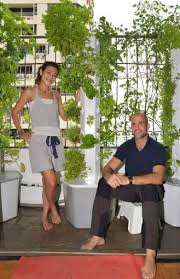 this homeowner s balcony garden turned into a full fledged business