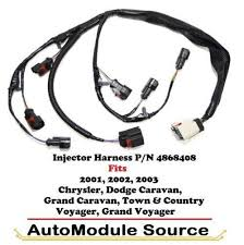 dodge engine harness ebay 2002 dodge grand caravan engine wiring harness at 2002 Dodge Caravan Engine Wiring Harness