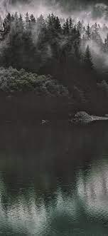 Lake Mountain Water Dark Nature