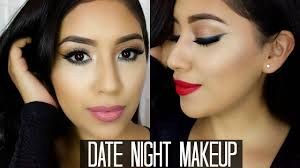 y cal date night makeup tutorial 2 lip options smokey out liner you